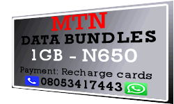 MTN Data Bundles